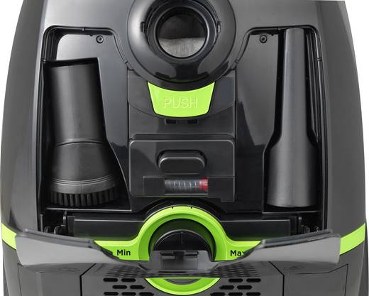 staubsauger mit beutel renkforce vcb43 900 w energieeffizienzklasse a g b schwarz gr n kaufen. Black Bedroom Furniture Sets. Home Design Ideas