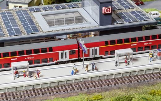 Faller 120202 H0 Moderner Bahnsteig mit Zubehör