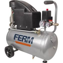 Piestový kompresor Ferm CRM1045 CRM1045, objem tlak. nádoby 24 l