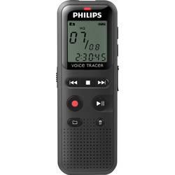 Digitales Diktiergerät Philips DVT1150 Schwarz
