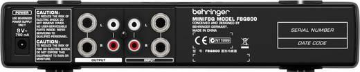 1-Kanal 19 Zoll Equalizer Behringer FBQ800