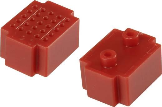 Steckplatine Rot Polzahl Gesamt 25 (L x B) 20 mm x 15 mm Conrad Components 1 St.