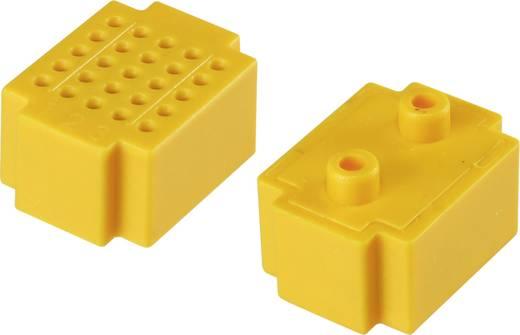 Steckplatine Gelb Polzahl Gesamt 25 (L x B) 20 mm x 15 mm Conrad Components 1 St.