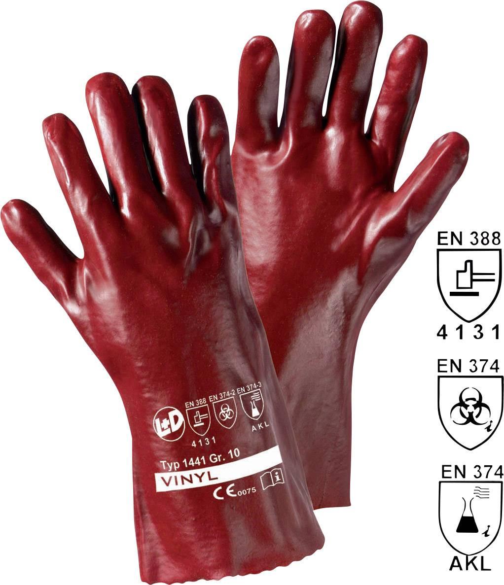 35 cm EN 388 kombi 1 Paar Schweißerhandschuhe