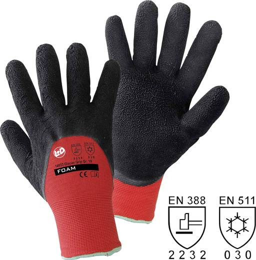 Polyester Arbeitshandschuh Größe (Handschuhe): 8, M EN 388 , EN 511 CAT II worky Glacier Grip 14933 1 Paar