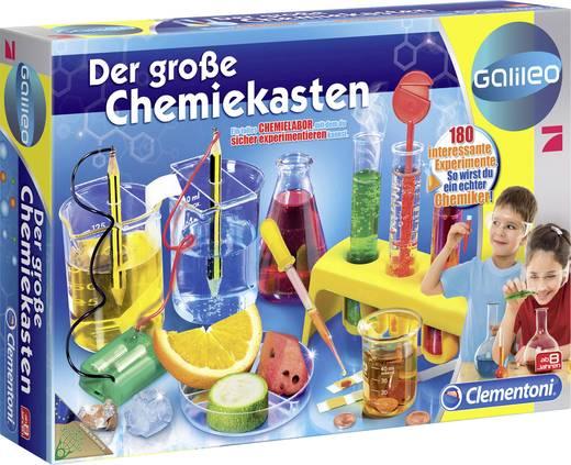 Experimentierkasten Clementoni Galileo - Der große Chemiekasten 69457.0