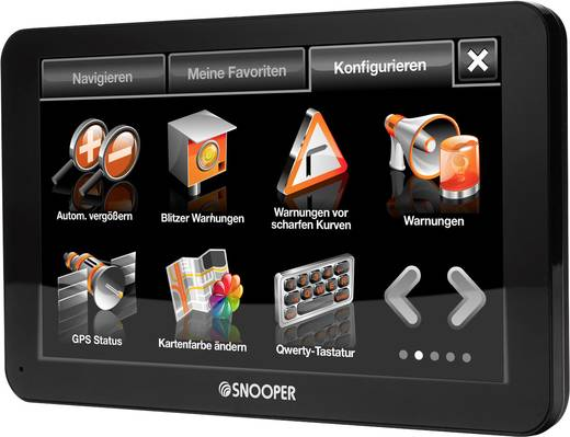 snooper truckmate pro s6800 eu lkw navi 17 8 cm 7 zoll europa. Black Bedroom Furniture Sets. Home Design Ideas