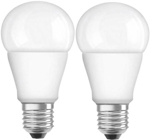 OSRAM LED EEK A+ (A++ - E) E27 Glühlampenform 8 W = 60 W Warmweiß (Ø x L) 60 mm x 110 mm 2 St.