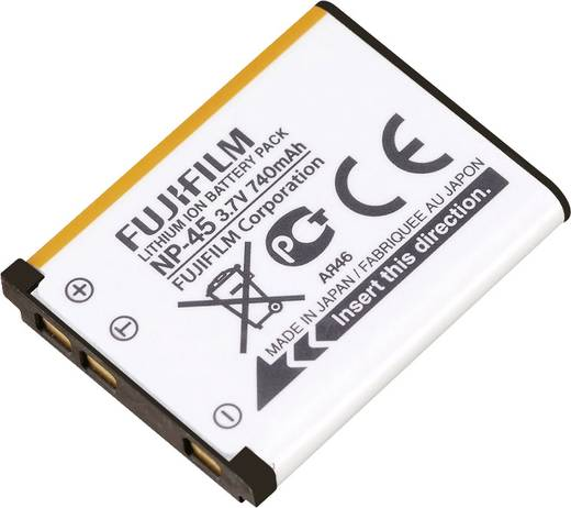 Kamera-Akku Fujifilm NP-45, NP-45A, NP-45S 3.7 V 740 mAh 16437322