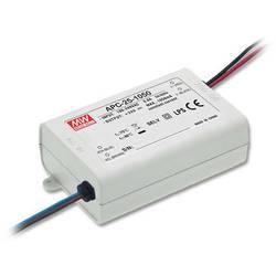 LED driver konštantný prúd Mean Well APC-25-1050, 25.2 W (max), 1.05 A, 9 - 24 V/DC