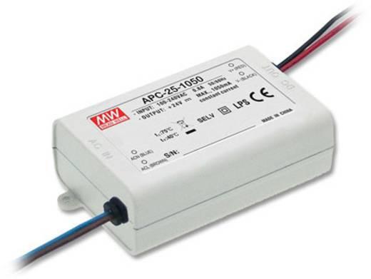 Mean Well APC-25-500 LED-Treiber Konstantstrom 25.2 W 0.5 A 15 - 50 V/DC nicht dimmbar, Überlastschutz
