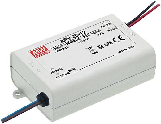 Mean Well APV-25-24 LED-Trafo Konstantspannung 25 W 0 - 1.05 A 24 V/DC nicht dimmbar, Überlastschutz