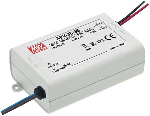 Mean Well APV-35-12 LED-Trafo Konstantspannung 36 W 0 - 3.0 A 12 V/DC nicht dimmbar, Überlastschutz