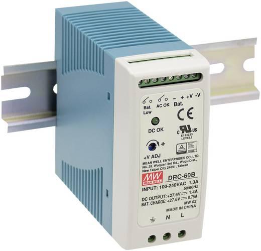 Mean Well DRC-100A Hutschienen-Netzteil (DIN-Rail) 13.8 V/DC 4.5 A 96 W 2 x