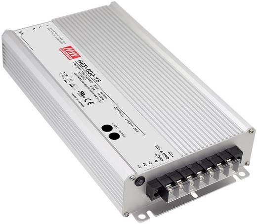 AC/DC-Netzteilbaustein, geschlossen Mean Well HEP-600-15