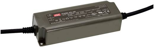 Mean Well NPF-60-12 LED-Treiber, LED-Trafo Konstantspannung, Konstantstrom 60 W 5 A 7.2 - 12 V/DC nicht dimmbar, PFC-Sch
