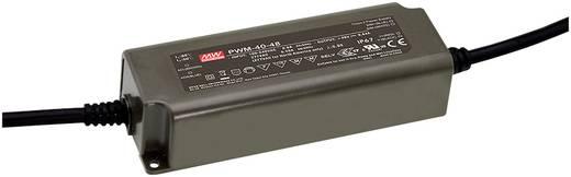 Mean Well NPF-60D-12 LED-Treiber, LED-Trafo Konstantspannung, Konstantstrom 60 W 5 A 7.2 - 12 V/DC dimmbar, PFC-Schaltkr