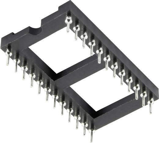 IC-Fassung Rastermaß: 2.54 mm, 15.24 mm Polzahl: 24 1 St.