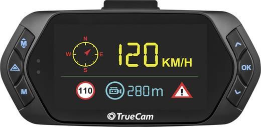 TrueCam A7s Dashcam mit GPS Blickwinkel horizontal max.=130 ° 12 V, 24 V Display, Mikrofon, Akku