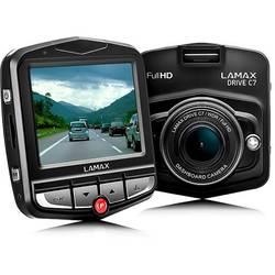 Lamax Drive C7, 150 °, 12 V, displej, na akumulátor, mikrofón