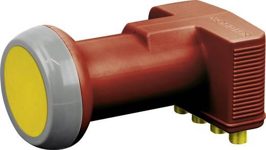 Quad-LNB Schwaiger Feedaufnahme: 40 mm Wetterschutz