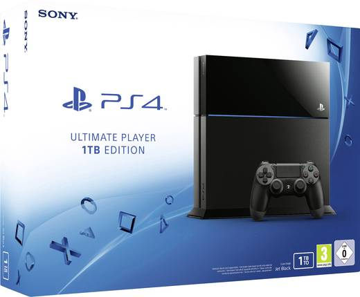 Sony Computer Entertainment Playstation® 4 Konsole 1 TB Schwarz