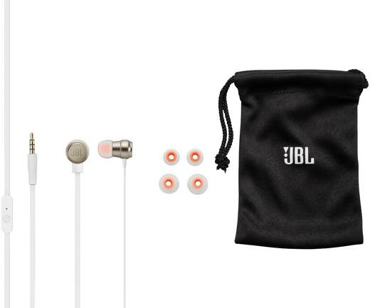 kopfh rer jbl harman t280a in ear headset gold kaufen. Black Bedroom Furniture Sets. Home Design Ideas
