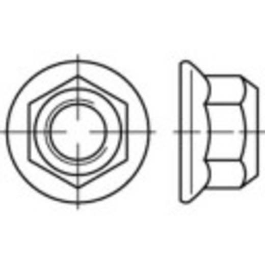 Sicherungsmuttern M6 DIN 1664 Stahl galvanisch verzinkt 100 St. TOOLCRAFT 137208