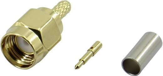 SMA-Steckverbinder Stecker, gerade 50 Ω Conrad Components SMA-JC-RG174-2 1 St.