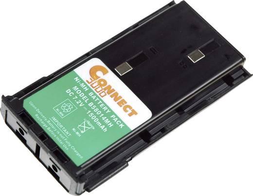 Funkgeräte-Akku Connect 3000 ersetzt Original-Akku KNB-14, KNB-14A, KNB-15 7.2 V 2100 mAh