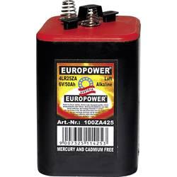 Špeciálny typ batérie 4LR25 pružinový kontakt alkalicko-mangánová, Europower 4LR25SZ, 50000 mAh, 6 V, 1 ks