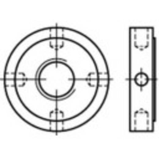Kreuzlochmuttern M20 DIN 1816 Stahl 10 St. TOOLCRAFT 137262