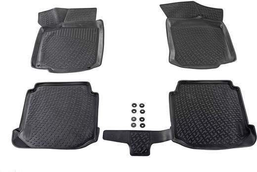 Fußmatte (fahrzeugspezifisch) BMW 1er TPE (Geruchneutrales Spezialgummigemisch) Schwarz DINO 136090