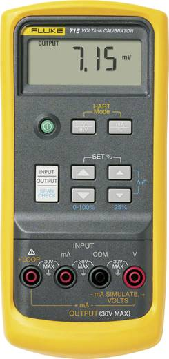 Fluke 715 Kalibrator Spannung, Strom 1x 9 V Block-Batterie (enthalten) Kalibriert nach ISO