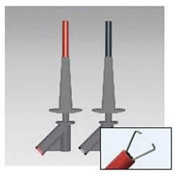 Sada bezpečnostných krokosvoriek Beha Amprobe 370024 2146758, zásuvka 4 mm , CAT III 1000 V, červená, čierna