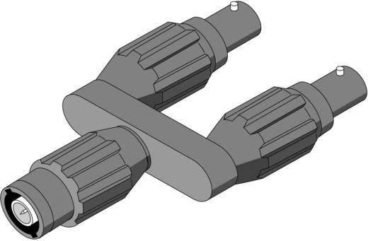 Messadapter BNC-Stecker - BNC-Buchse berührungssicher Fluke PM9093 Schwarz