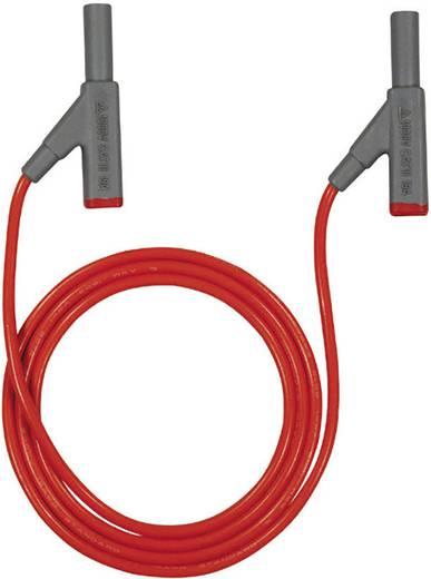 Sicherheits-Messleitung [4 mm-Stecker - 4 mm-Stecker] 2 m Rot Beha Amprobe 307112