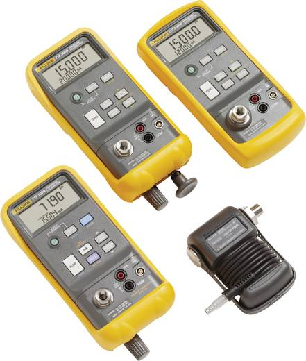 Fluke 717-10000G Kalibrator Druck, Strom 1x 9 V Block-Batterie (enthalten) Kalibriert nach ISO