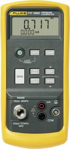 Fluke 717 100G Kalibrator Druck, Strom 1x 9 V Block-Batterie (enthalten) Kalibriert nach ISO