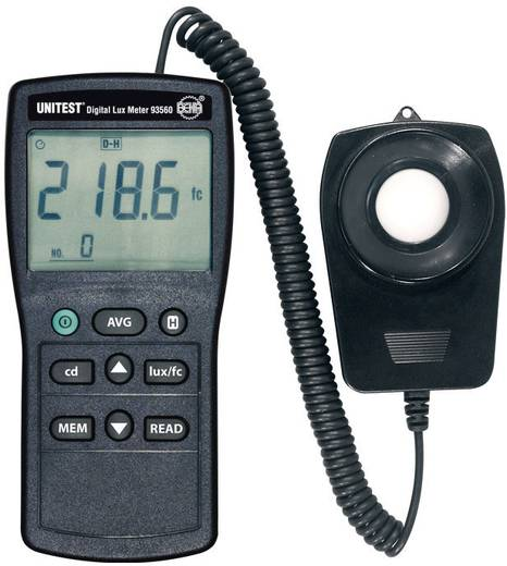 Beha Amprobe 93560D Luxmeter 0 - 200000 lx Kalibriert nach Werksstandard (ohne Zertifikat)
