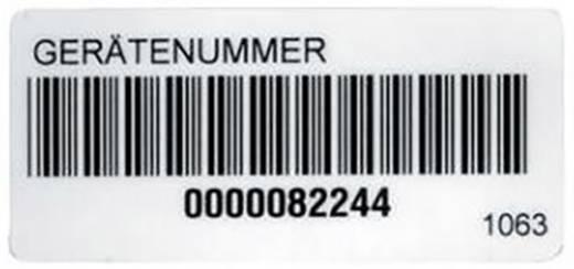 Aufkleber Beha Amprobe 1063D Barcode-Aufkleber 1036D, 2389952