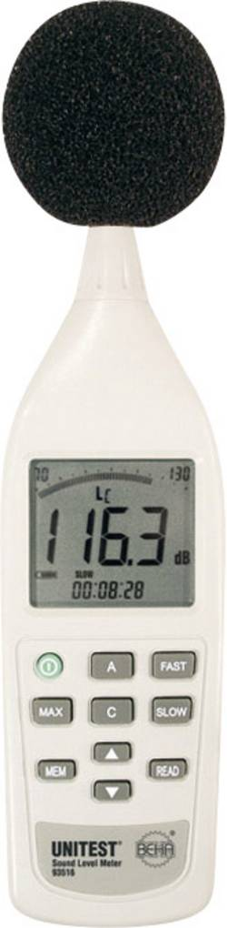 Image of Beha Amprobe Schallpegel-Messgerät Datenlogger 93517D 25 - 130 dB 31.5 Hz - 8 kHz Kalibriert nach Werksstandard (ohne