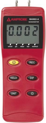 Druck-Messgerät Beha Amprobe MANO2-A Luftdruck 0 - 137.8 mbar Kalibriert nach ISO