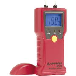 Měřič vlhkosti materiálů Beha Amprobe MT-10, Měření vlhkosti dřeva 8 až 60 % vol 0.3 až 2.0 % vol 3503178