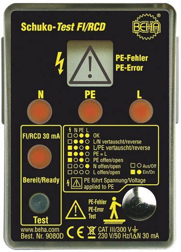 Beha Amprobe 9080D Steckdosentester CAT III 300 V LED, LCD Werksstandard (ohne Zertifikat)