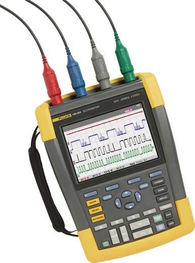 Fluke 190-204/UN Hand-Oszilloskop (Scope-Meter) 200 MHz 4-Kanal 1.25 GSa/s 10 kpts 8 Bit Handgerät, Digital-Speicher (D