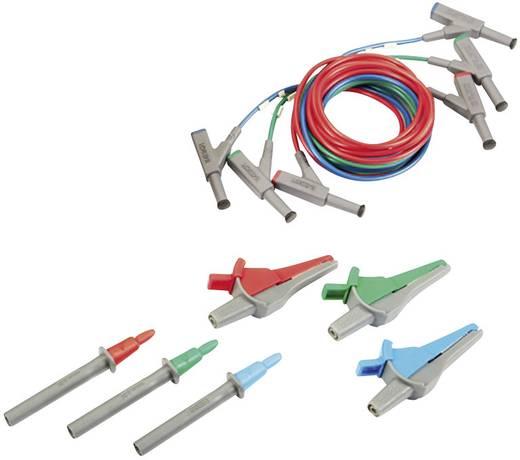 Beha Amprobe PROINSTALL-TL-KIT Sicherheits-Messleitungs-Set [Stecker 4 mm, Buchse 4 mm - Abgreifklemmen, Prüfspitze, Ste