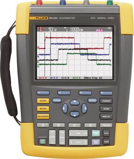 Fluke 190-504/UN Hand-Oszilloskop (Scope-Meter) 500 MHz 4-Kanal 1.25 GSa/s 10 kpts 8 Bit Handgerät, Digital-Speicher (D