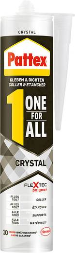 Pattex One for All Crystal Montagekleber Farbe Transparent PXFCR 290 g