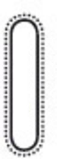Mühlsägefeile Hieb 3 runde Kanten mit 2K-Griff 200 mm Dick 3413200-2K